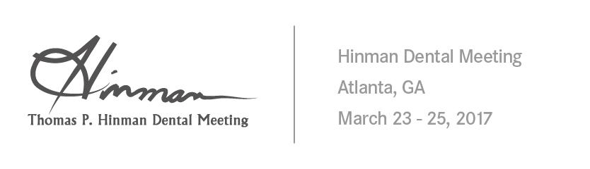 Thomas P. Hinman Dental Meeting