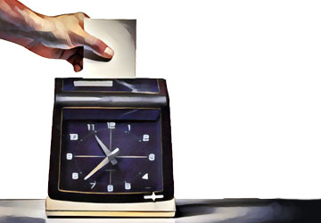 requiring dental employees to clock out could be costly