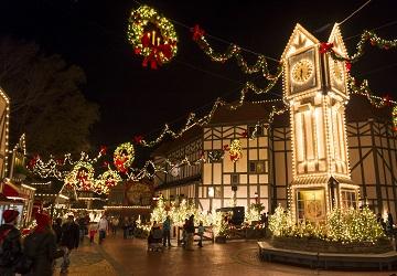 dazzling light displays deliver holiday spirit