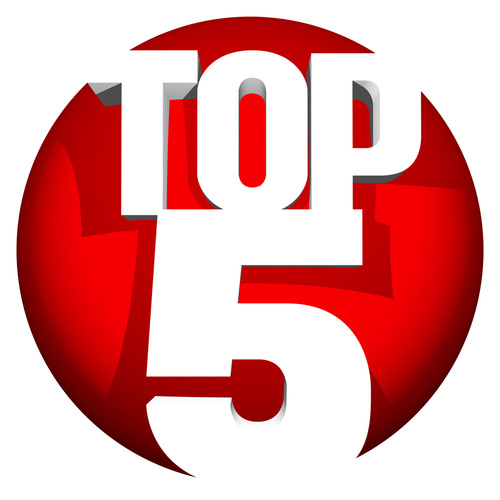 The DMD Top 5 for the Week Ending March 17